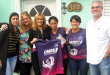 Giaccone con equipo Fútbol femenino en Las Parejas